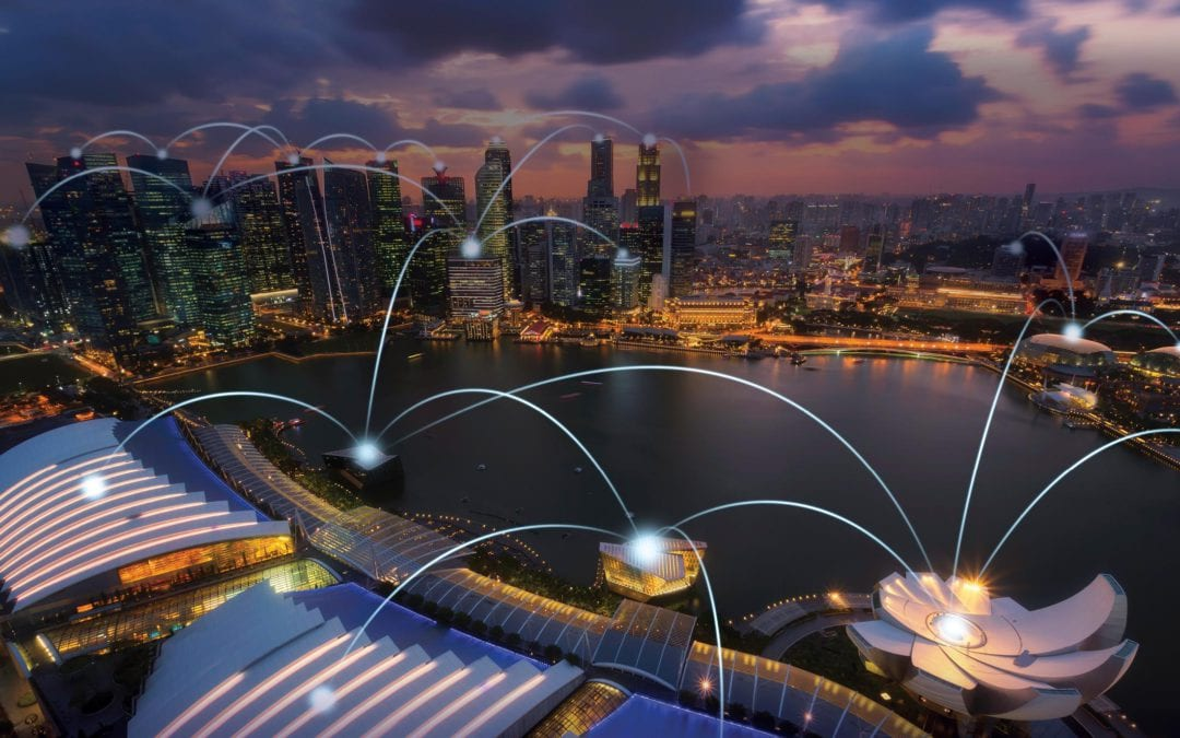 How Singapore is moving towards a smart nation?